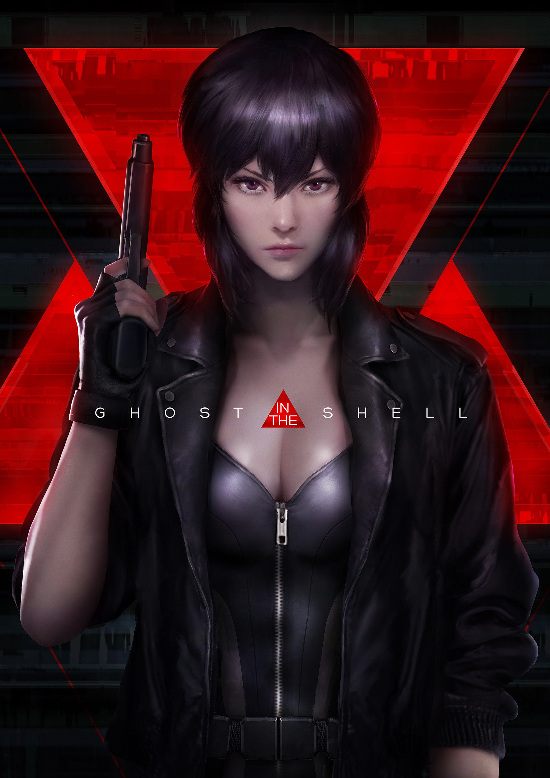 Inspiration hebdomadaire spéciale Ghost in the shell en digital painting