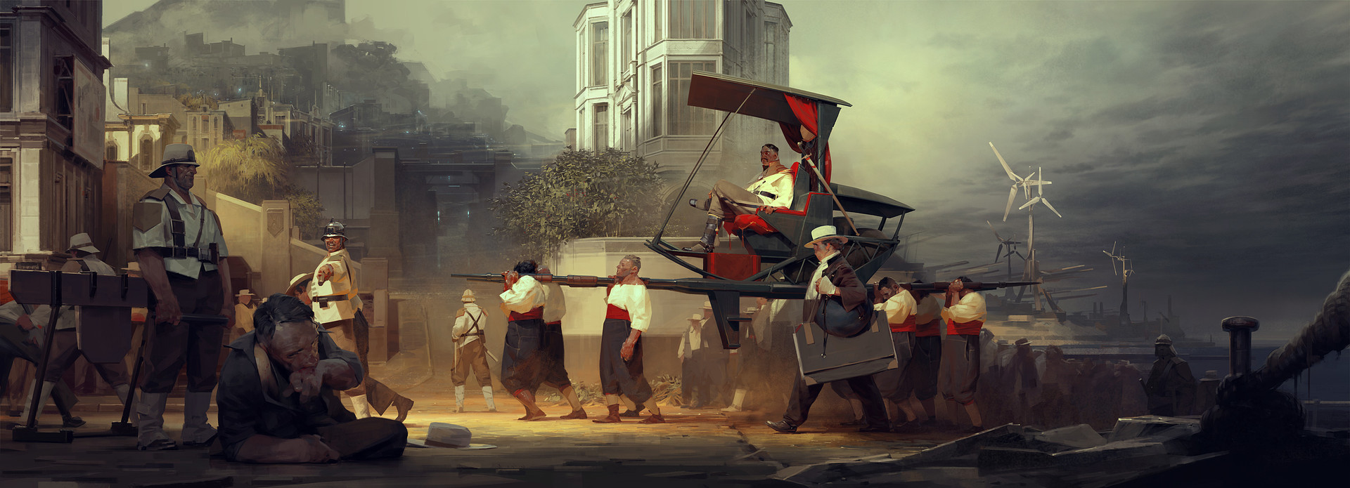 Sergey Kolesov Digital Painting Concept Art Dishonored 2 The Duke