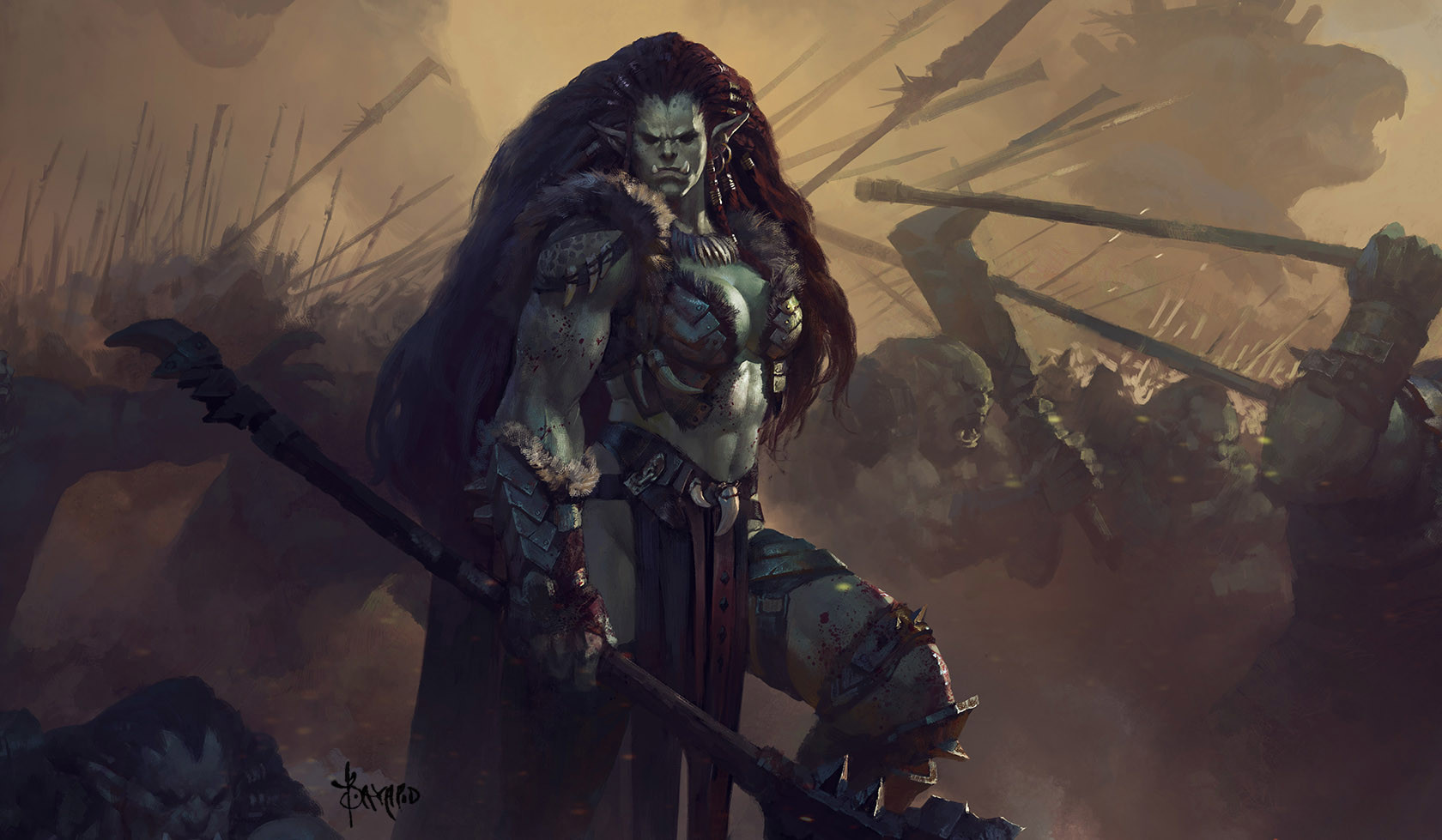 bayard_wu_digital_painting_illustration_fantasy_orc