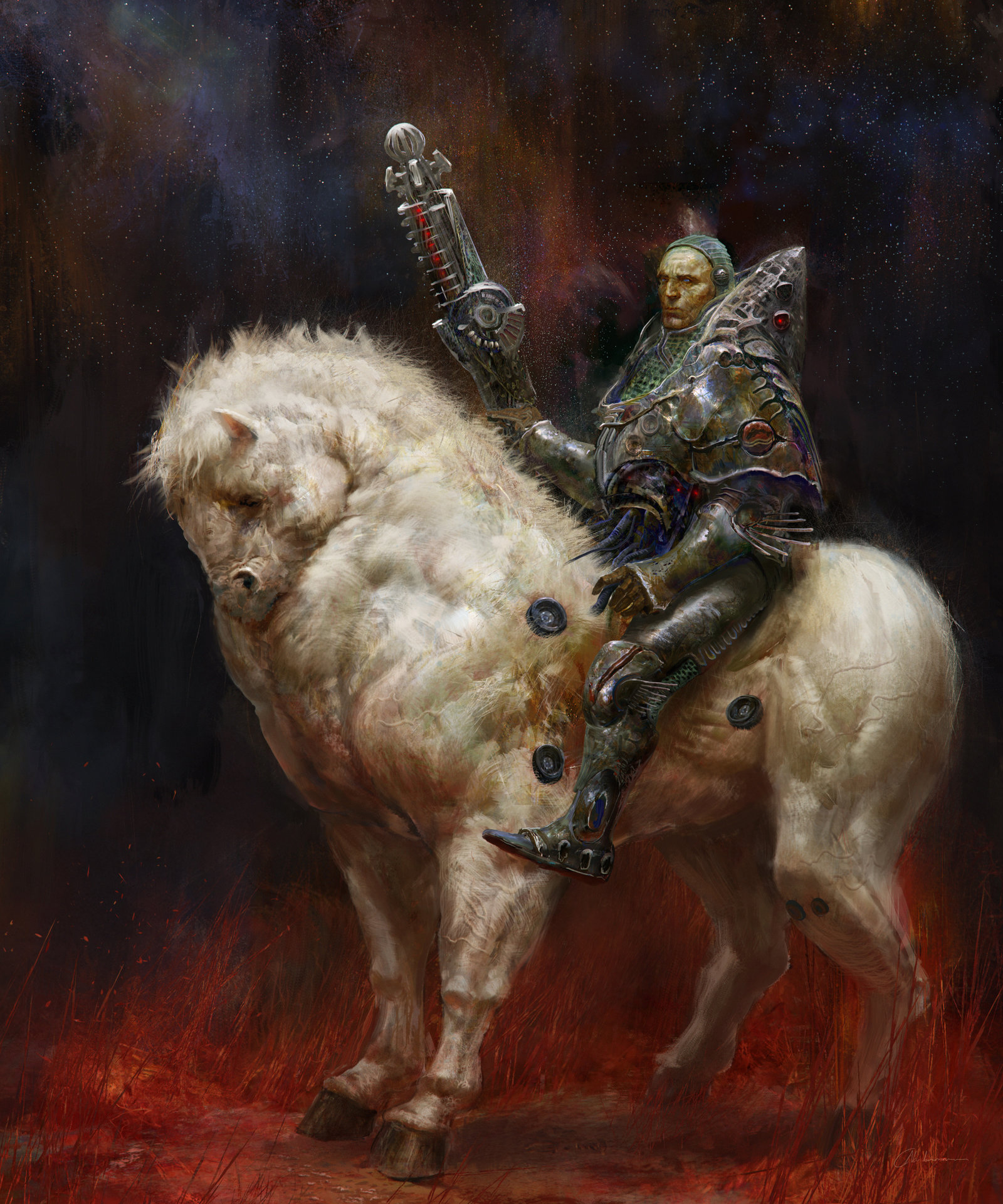 chenthooran_digital_painting_illustration_fantasy_scifi_horse_brynden_gameofthrones
