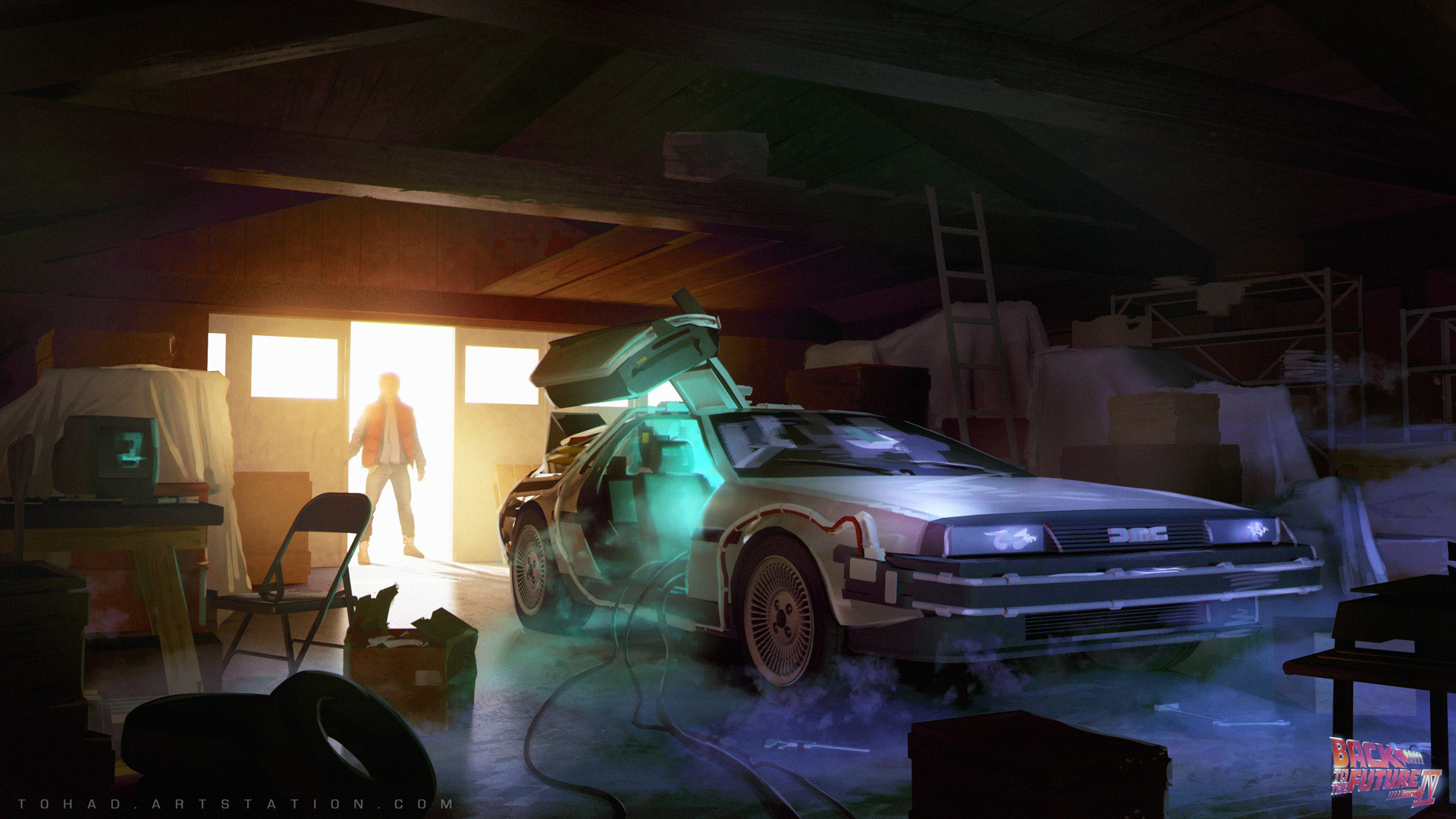 sylvain_sarrailh_digital_illustration_conceptart_car_backtothefuture