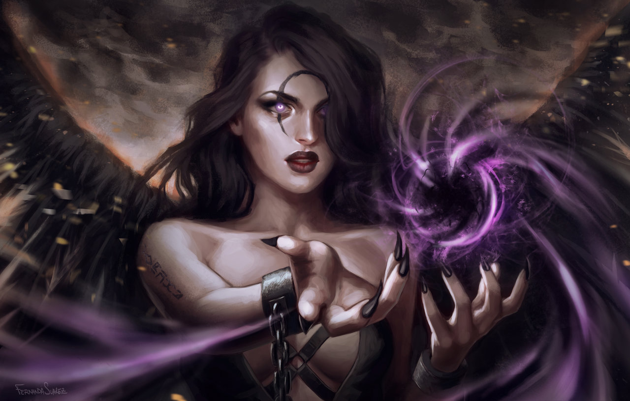 Fernanda_Suarez_digital_painting_illustration_leagueoflegends_morgana
