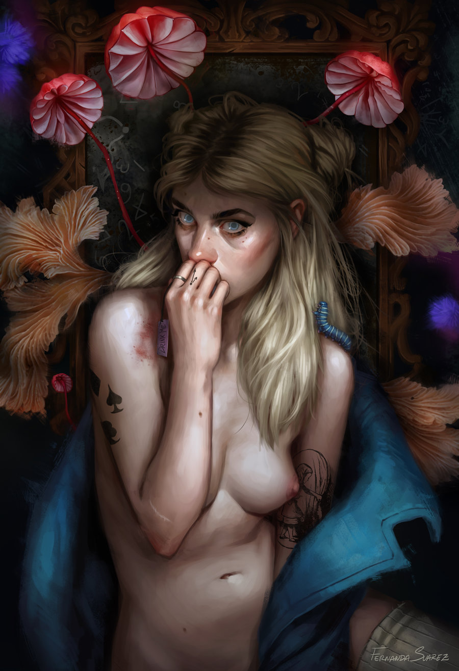 Fernanda_Suarez_digital_painting_illustration_portrait_alice