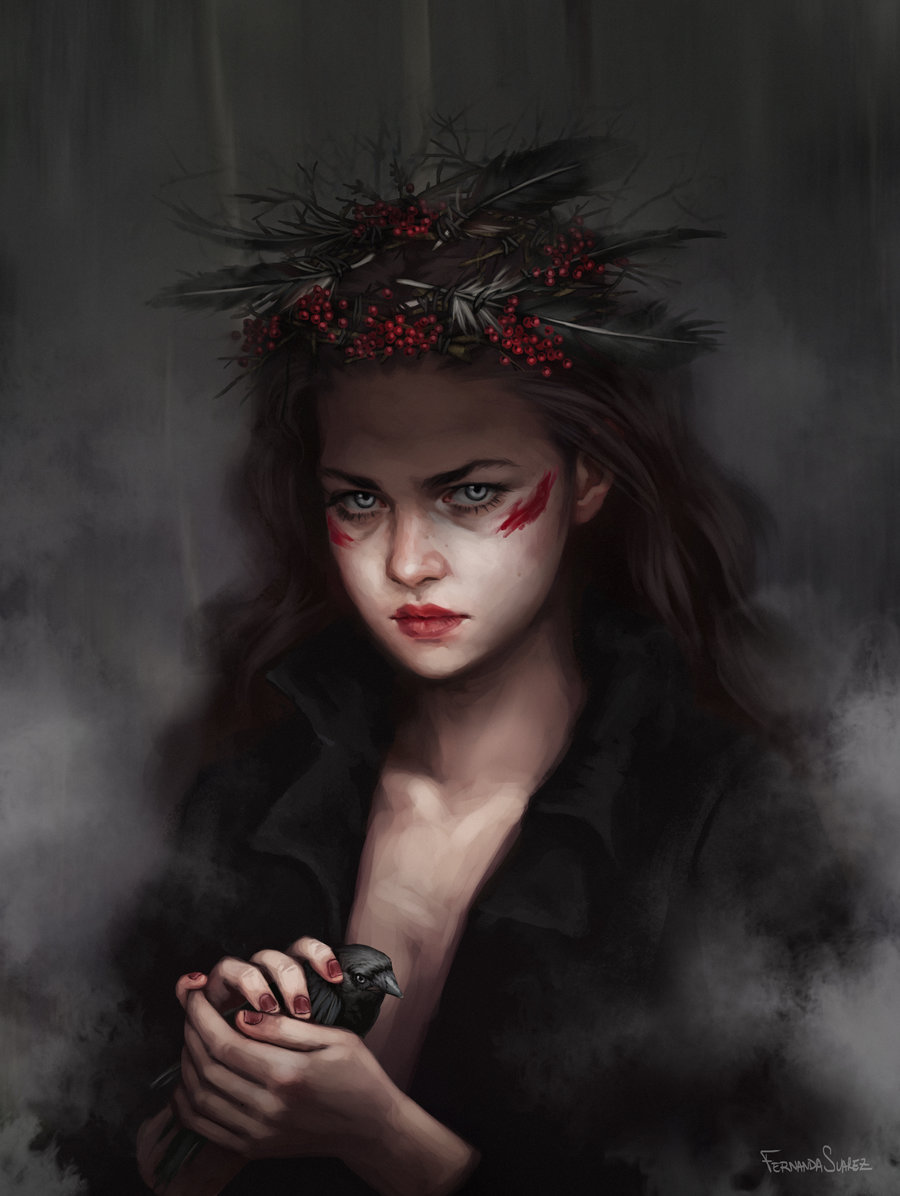 Fernanda_Suarez_digital_painting_illustration_portrait_fantasy_witch