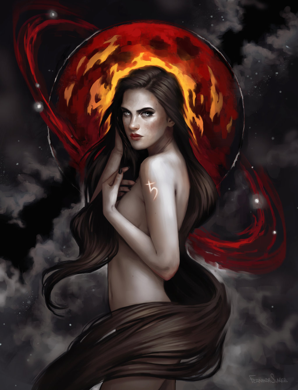 Fernanda_Suarez_digital_painting_illustration_fantasy_mythology