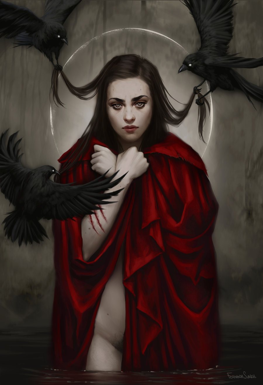 Fernanda_Suarez_digital_painting_illustration_crows