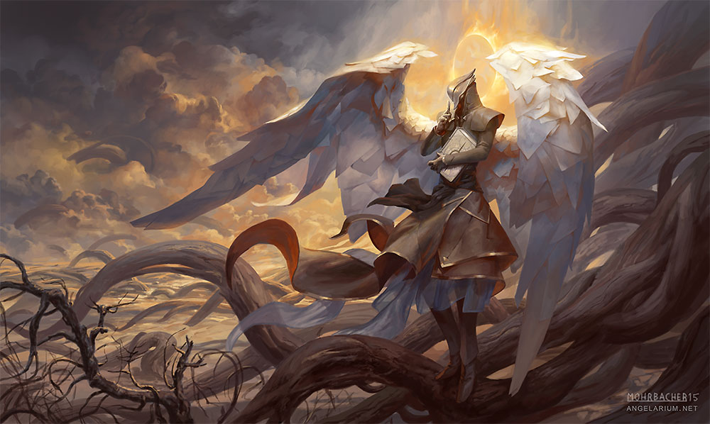 peter mohrbacher digital painting illustration Angel The Seraphim