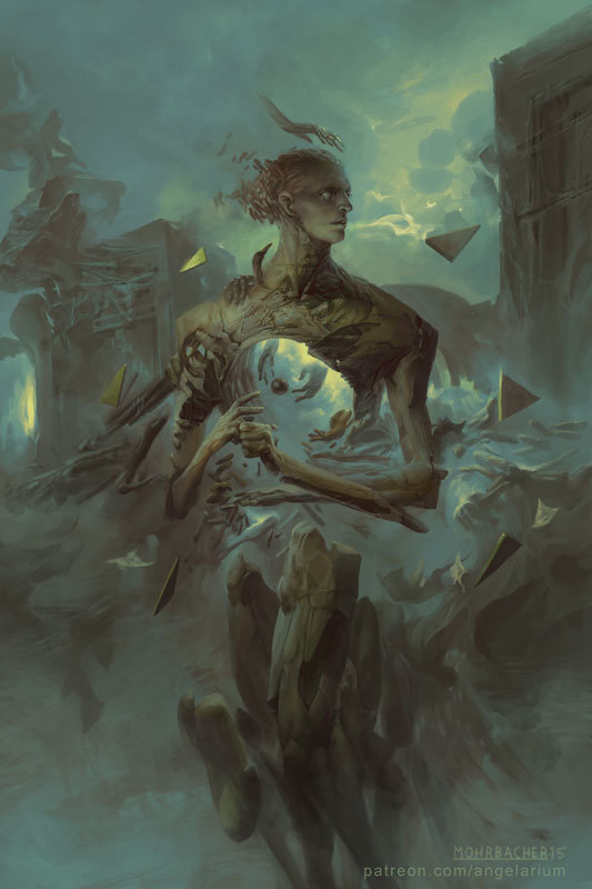 peter mohrbacher digital painting illustration Tifferet
