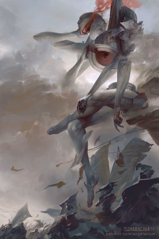 peter mohrbacher digital painting illustration Chokhmah