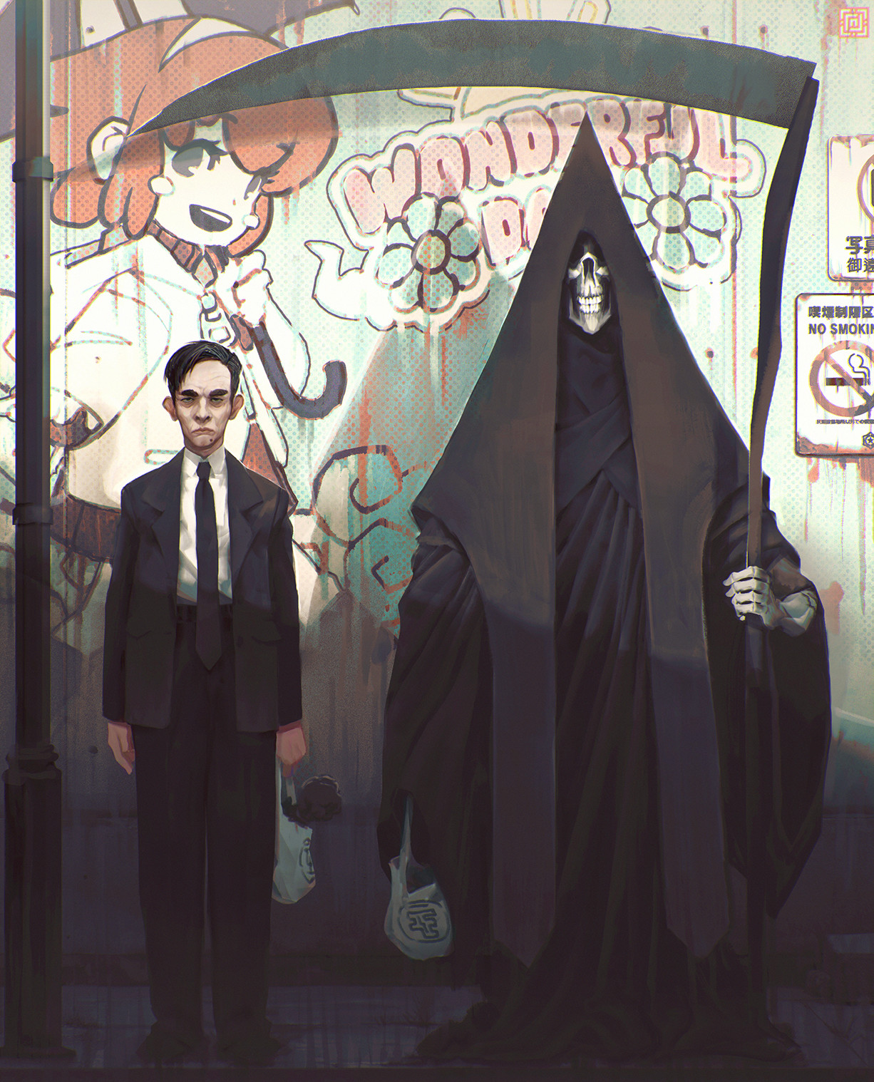 Deadslug_digital_painting_illustration_characters_death