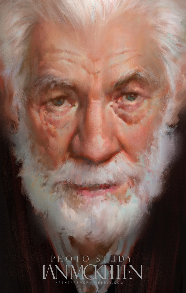 Krenz_Cushart_digital_painting_illustration_portrait_study_ianmckellen