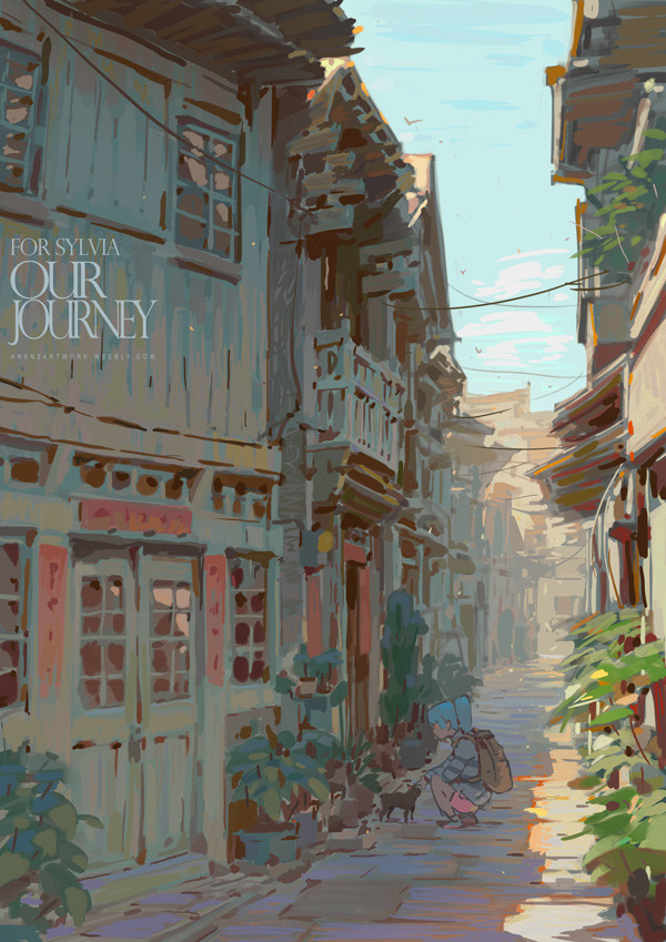 Krenz_Cushart_digital_painting_illustration_environment_city