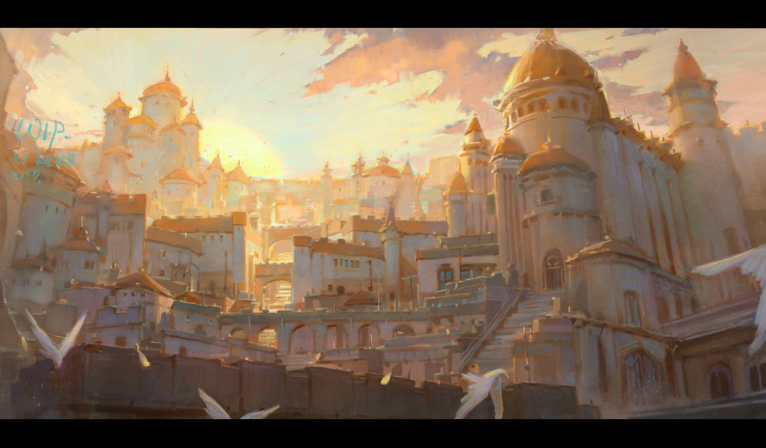 Krenz_Cushart_digital_painting_illustration_city_environment