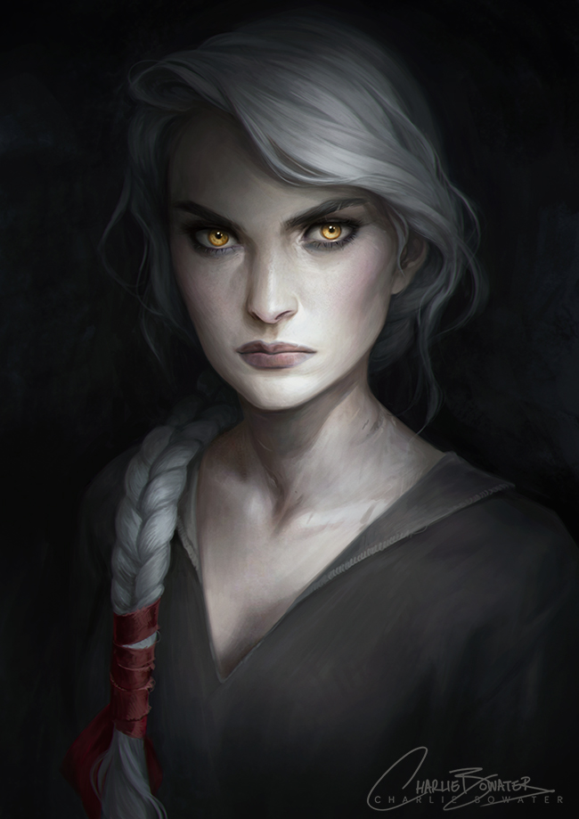 Charlie_Bowater_digital_painting_illustration_portrait_yellow_eyes