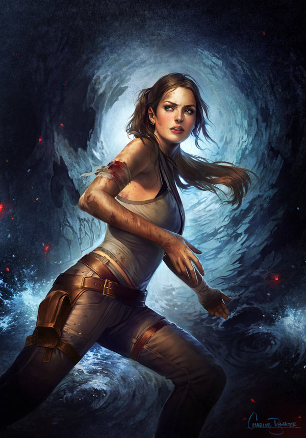 Charlie_Bowater_digital_painting_illustration_tombraider_laracroft