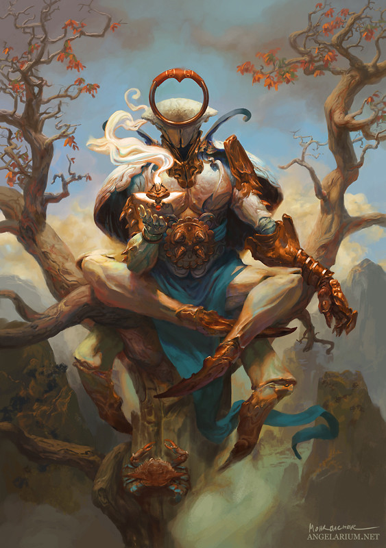Peter Mohrbacher Digital Painting Illustration