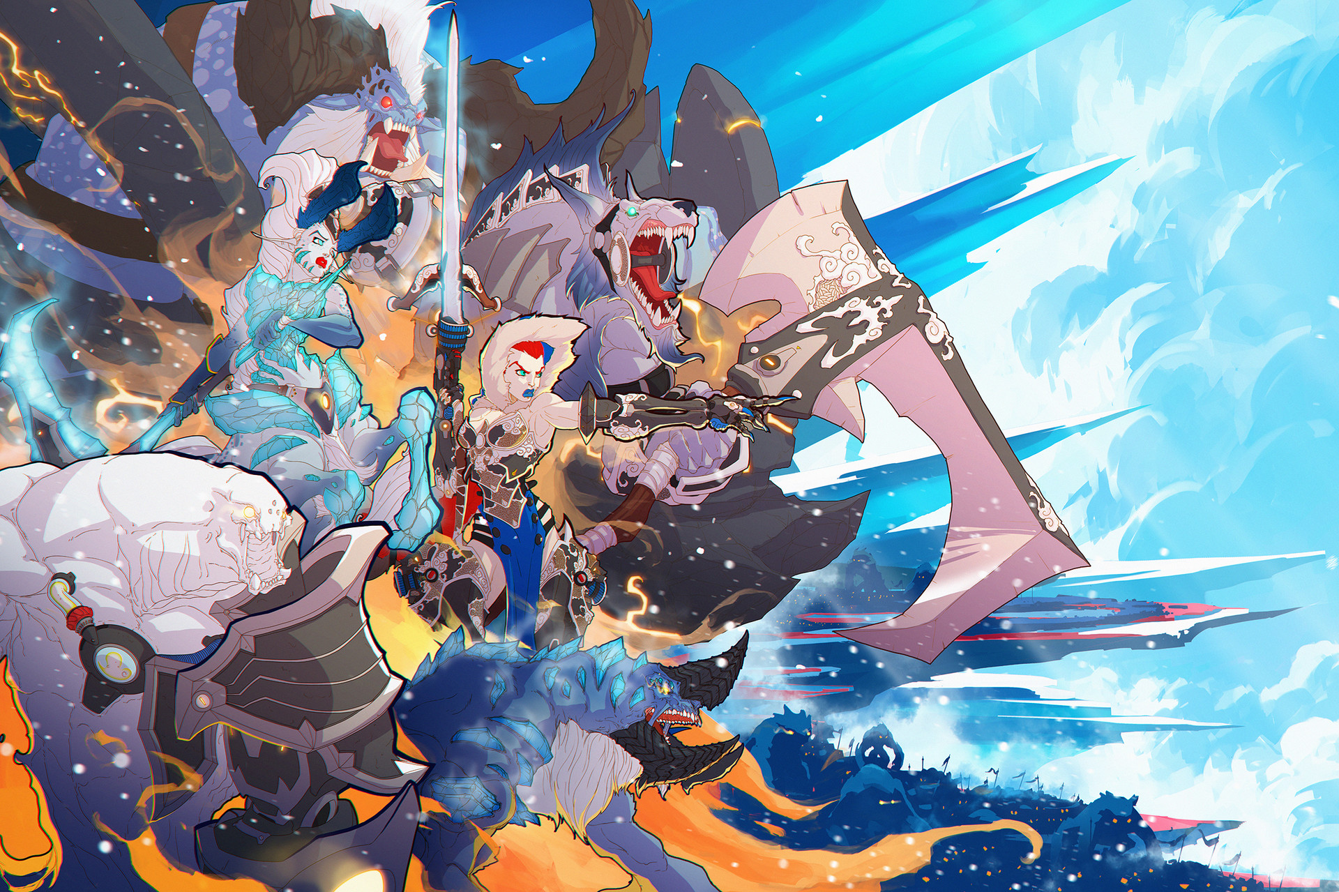 Duelyst_digital_painting_illustration_characters_characterdesign