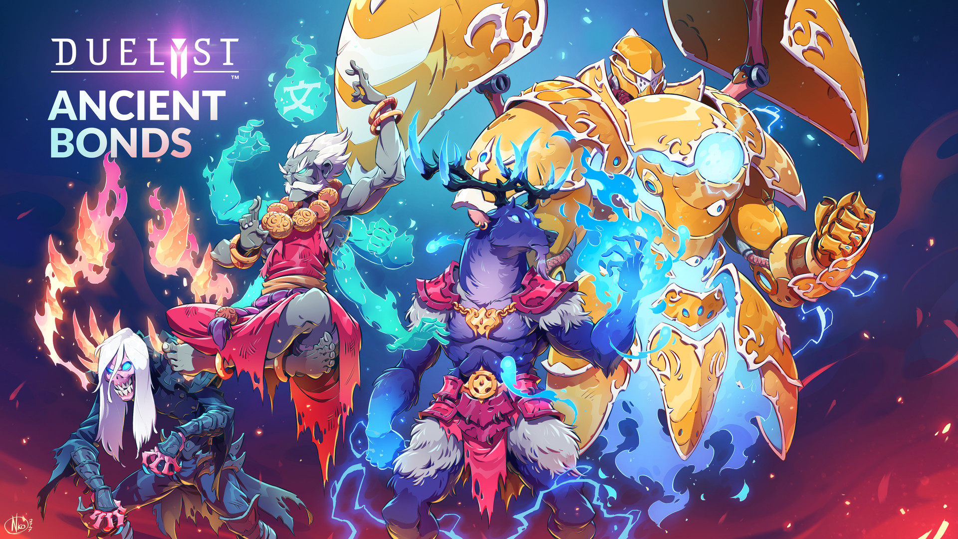 Duelyst_digital_painting_characters_characterdesign_ancientbonds