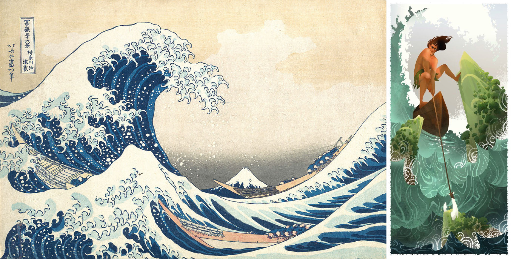 hokusai_blee_estampe_digital_painting1