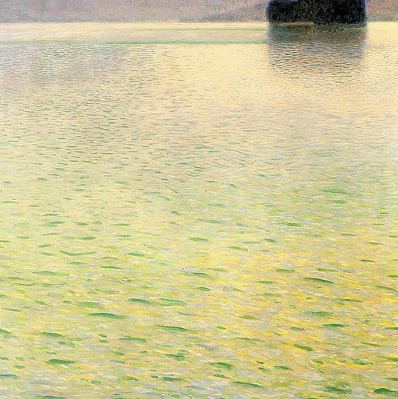 Klimt_lile_1901_Oil