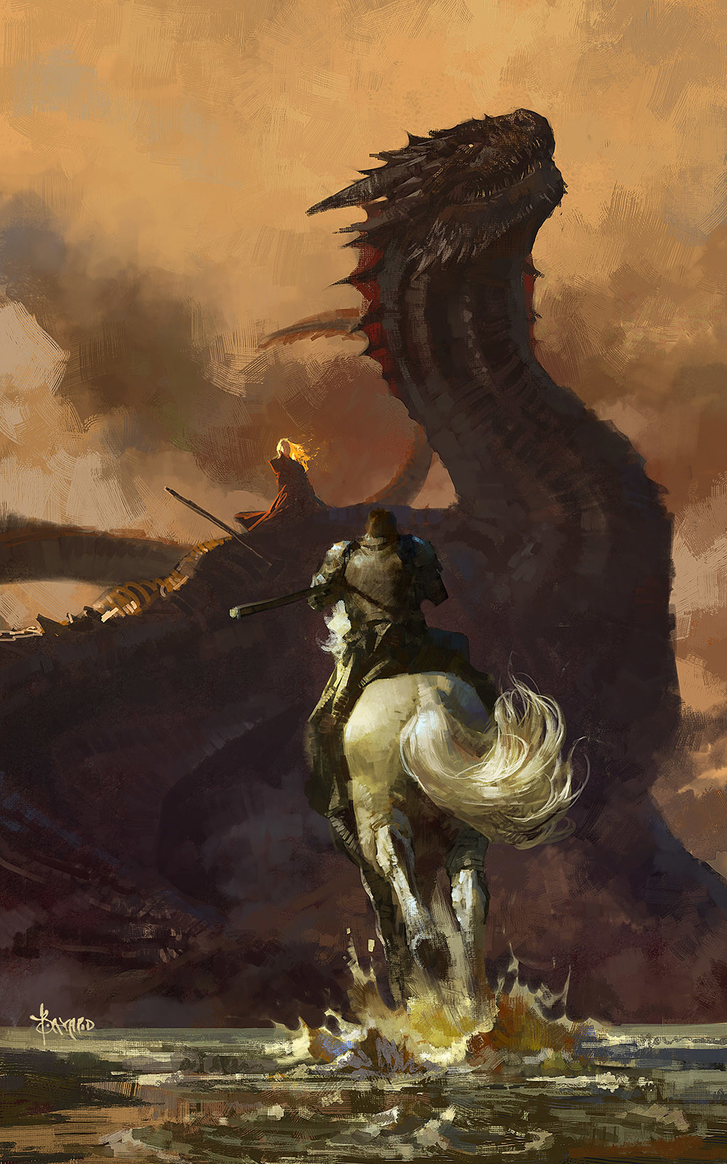 digital-painting-bayard-wu-game-of-thrones