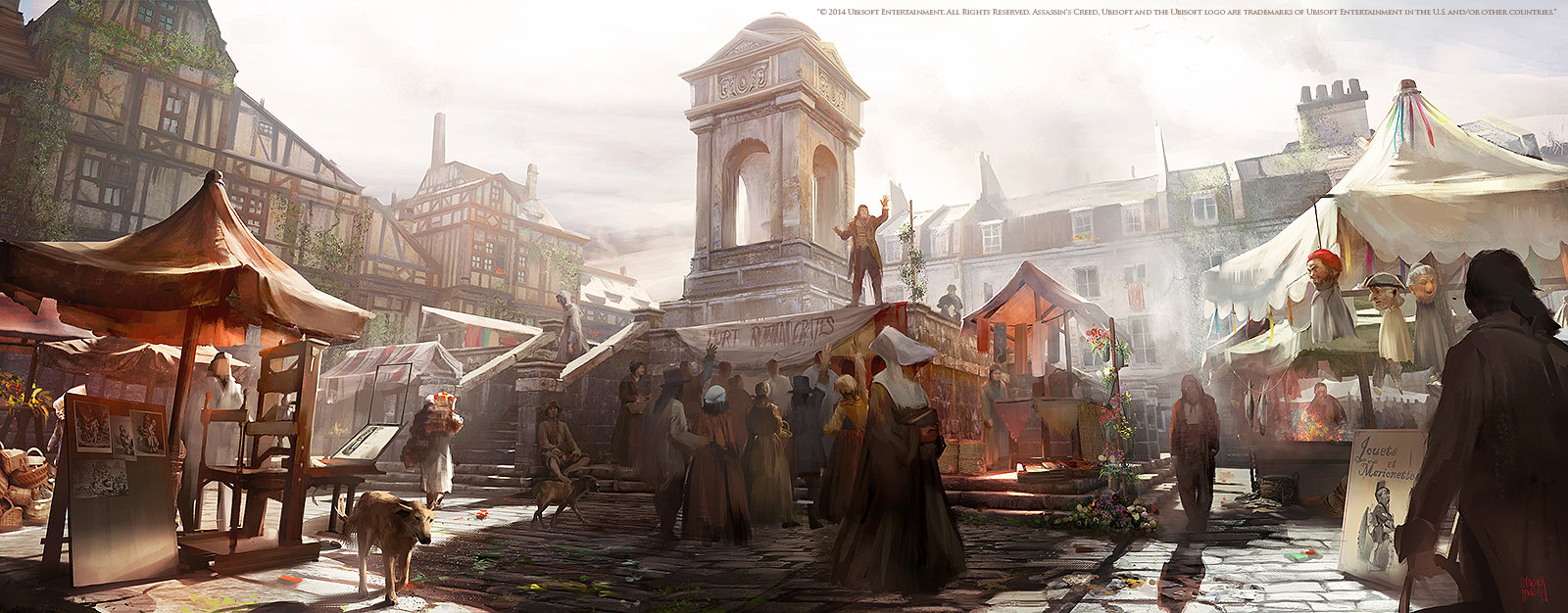 Nacho Yague Digital Painting Concept art Assassin's Creed