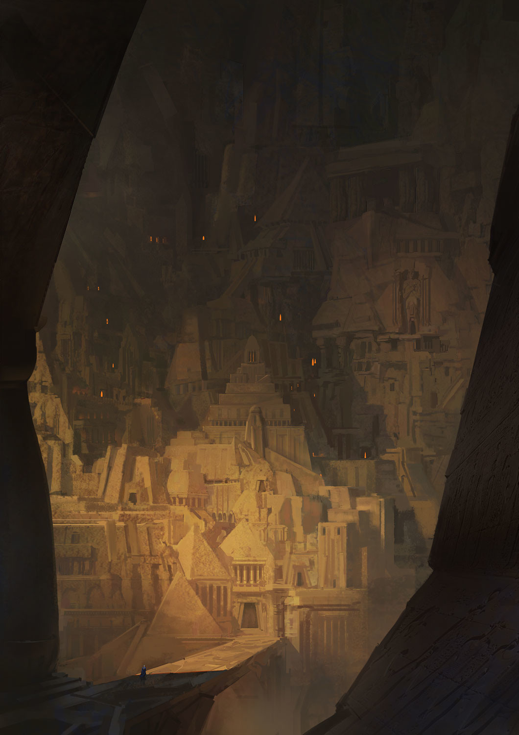 Marc Simonetti Digital Painting Enoch City
