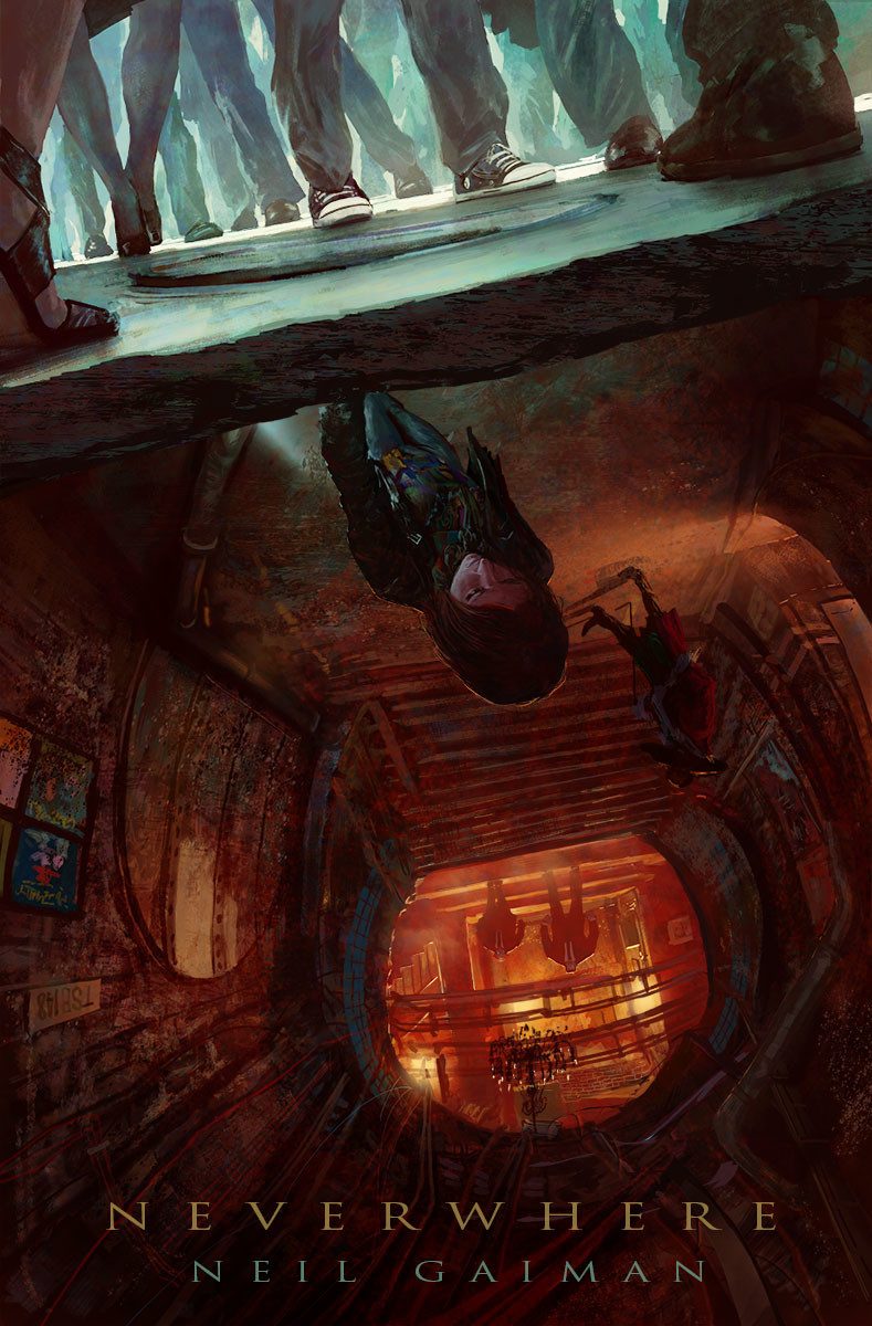 Marc Simonetti Digital Painting NEVERWHERE
