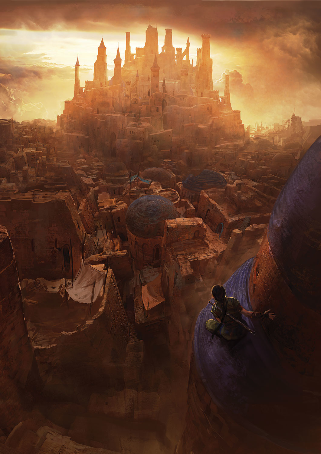 Marc Simonetti Digital Painting 12 Kings of Sharakai by Bradley P. Beaulieu
