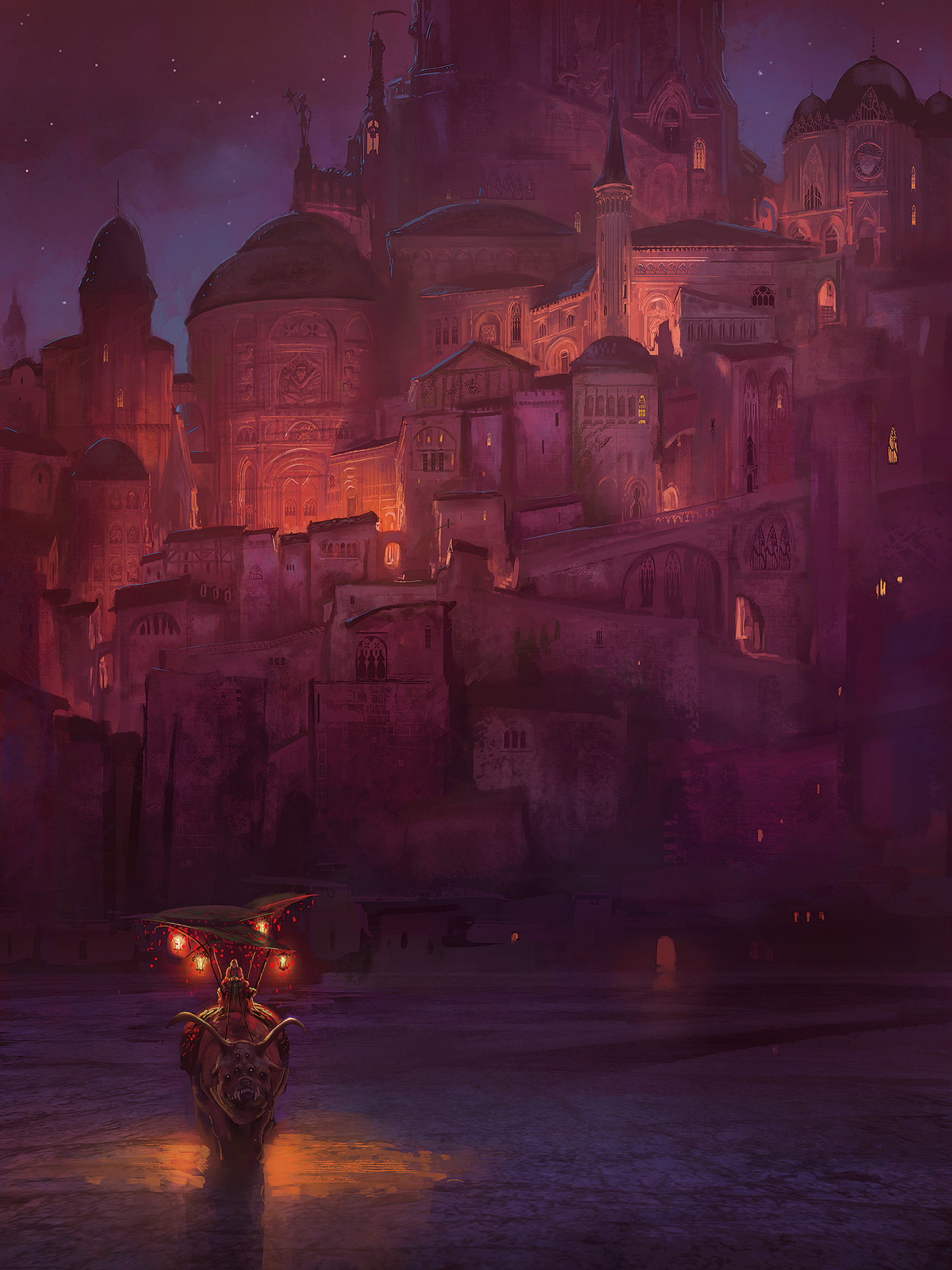Marc Simonetti Digital Painting Coverama