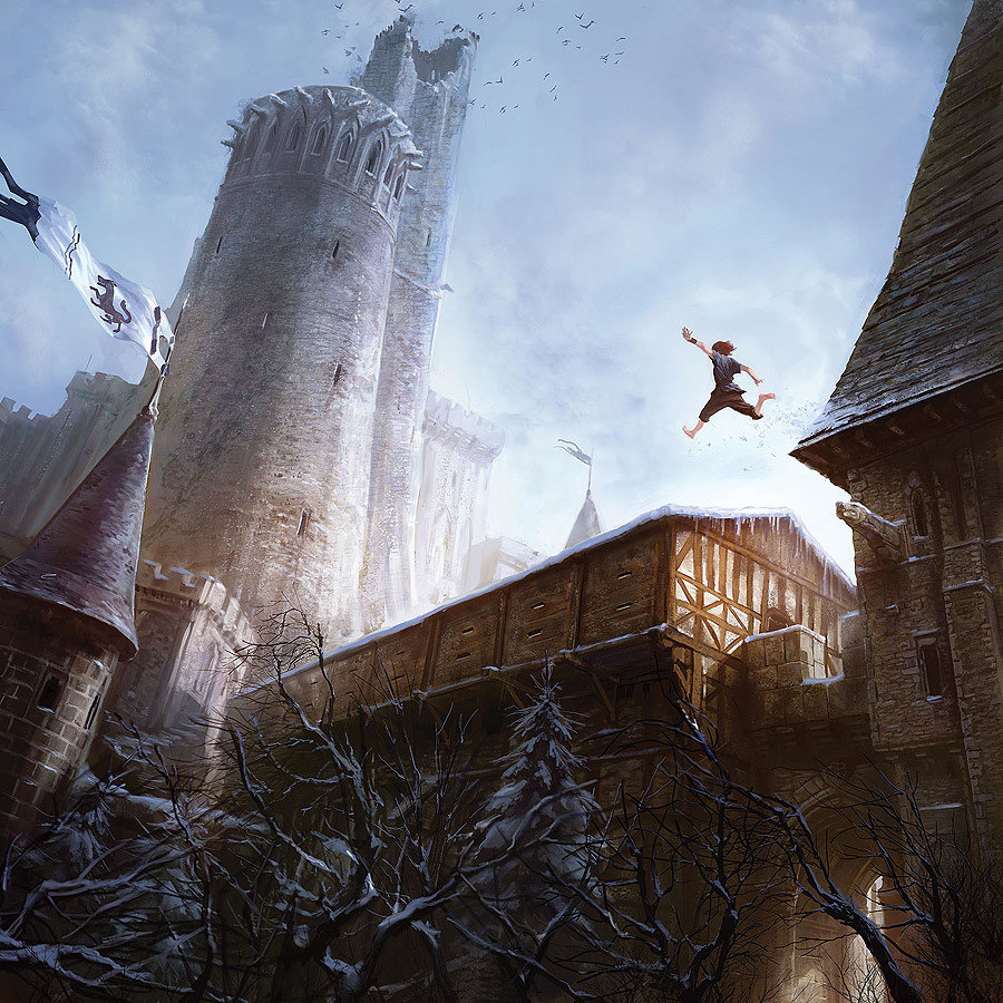 Marc Simonetti Digital Painting Among the Crows