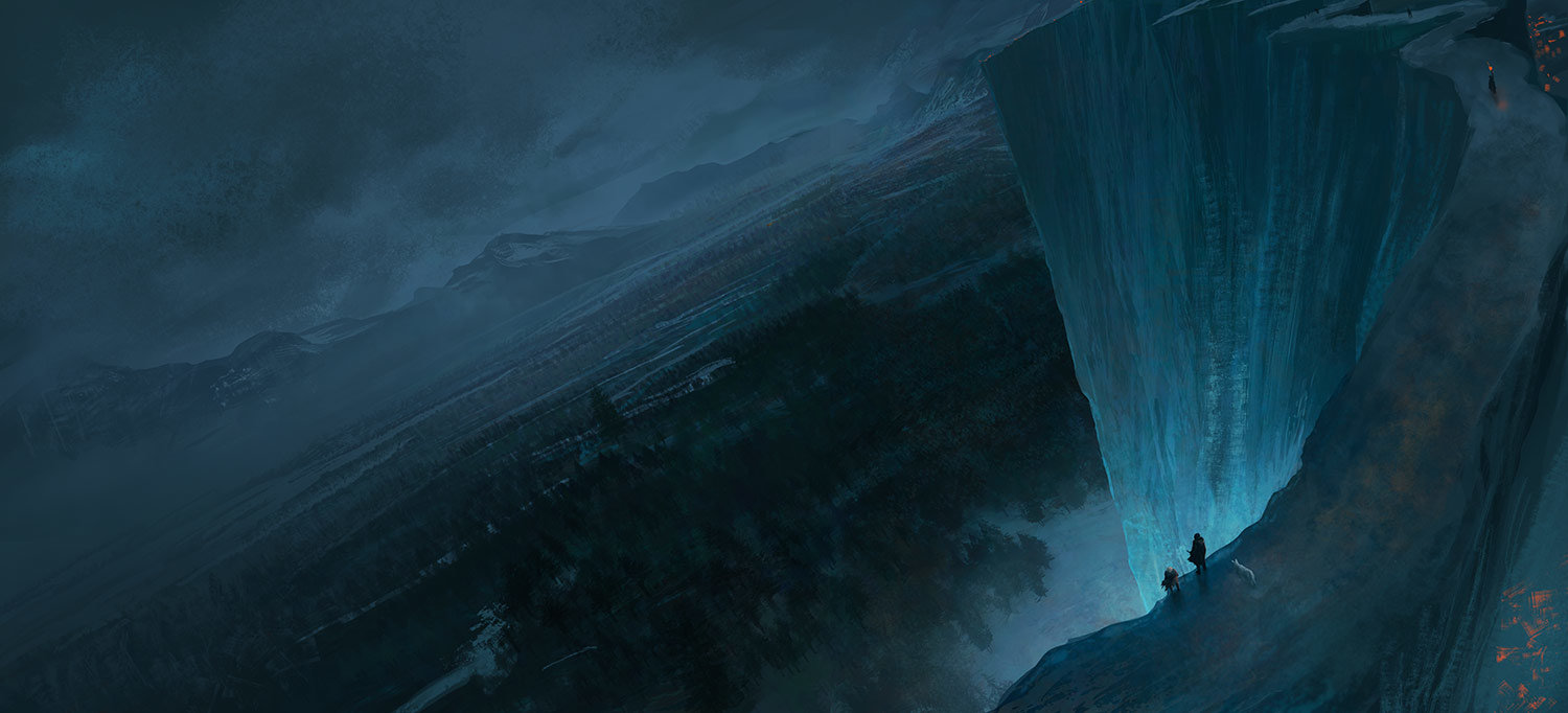 Marc Simonetti Digital Painting A game of Thrones