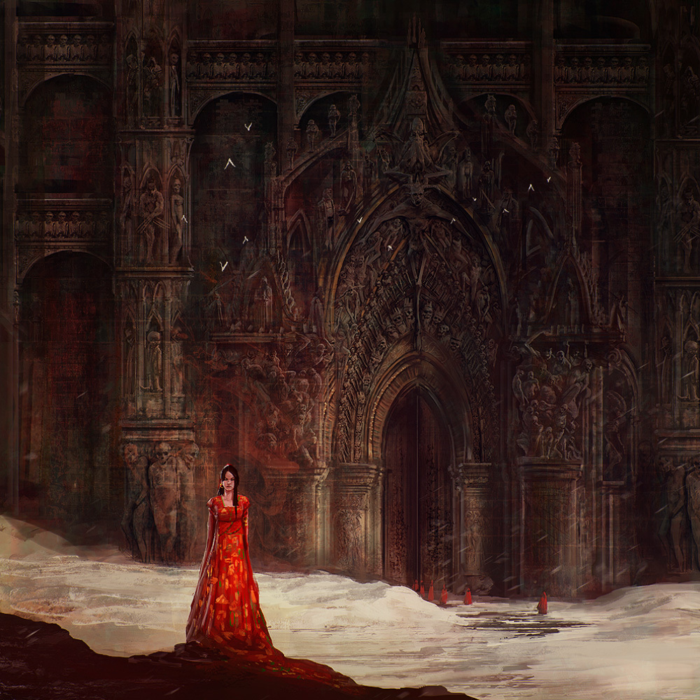 Marc Simonetti Digital Painting The Doors