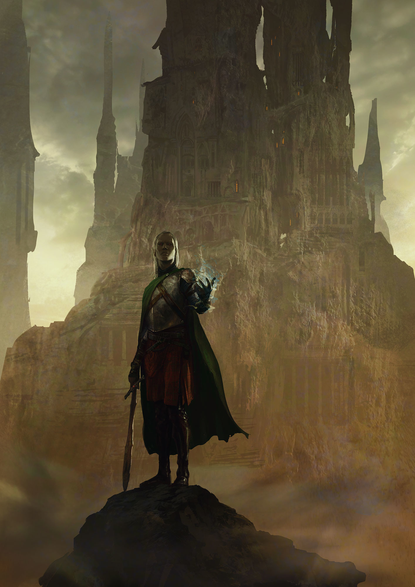 Marc Simonetti Digital Painting Elric of Melnibone