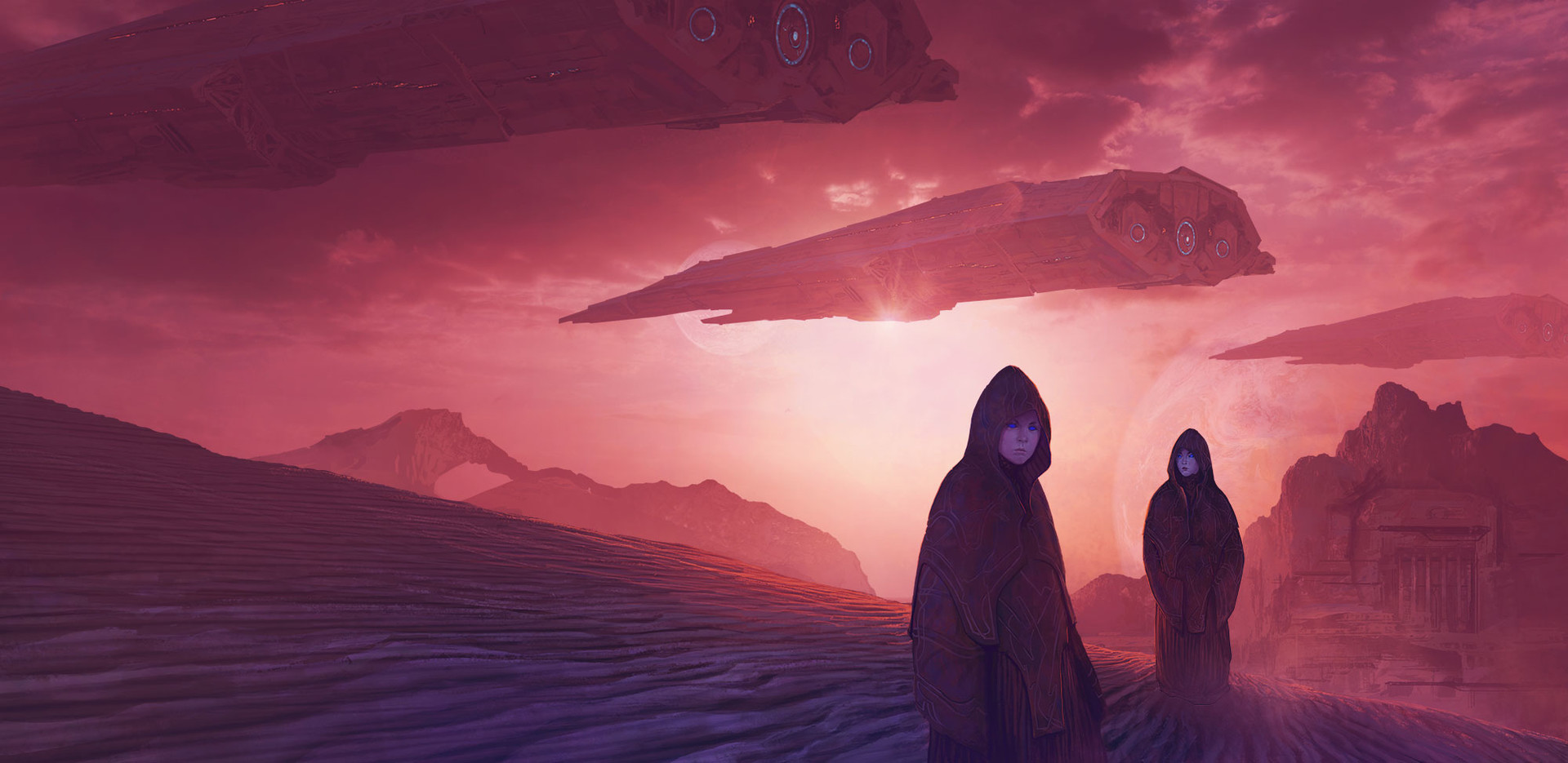 Marc Simonetti Digital Painting Children of Dune