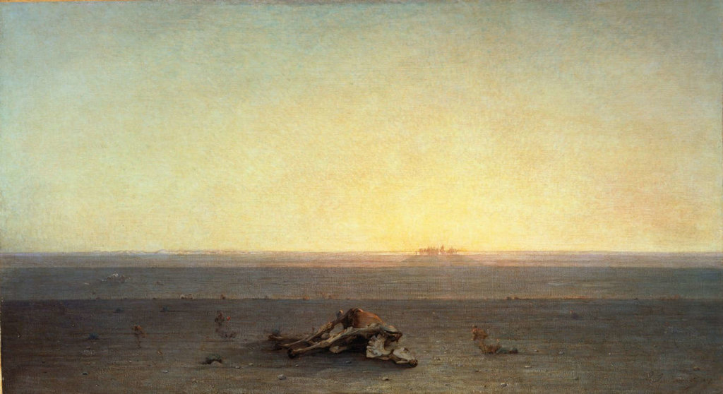 Gustave Guillaumet, le Sahara, musée d'Orsay, 1867