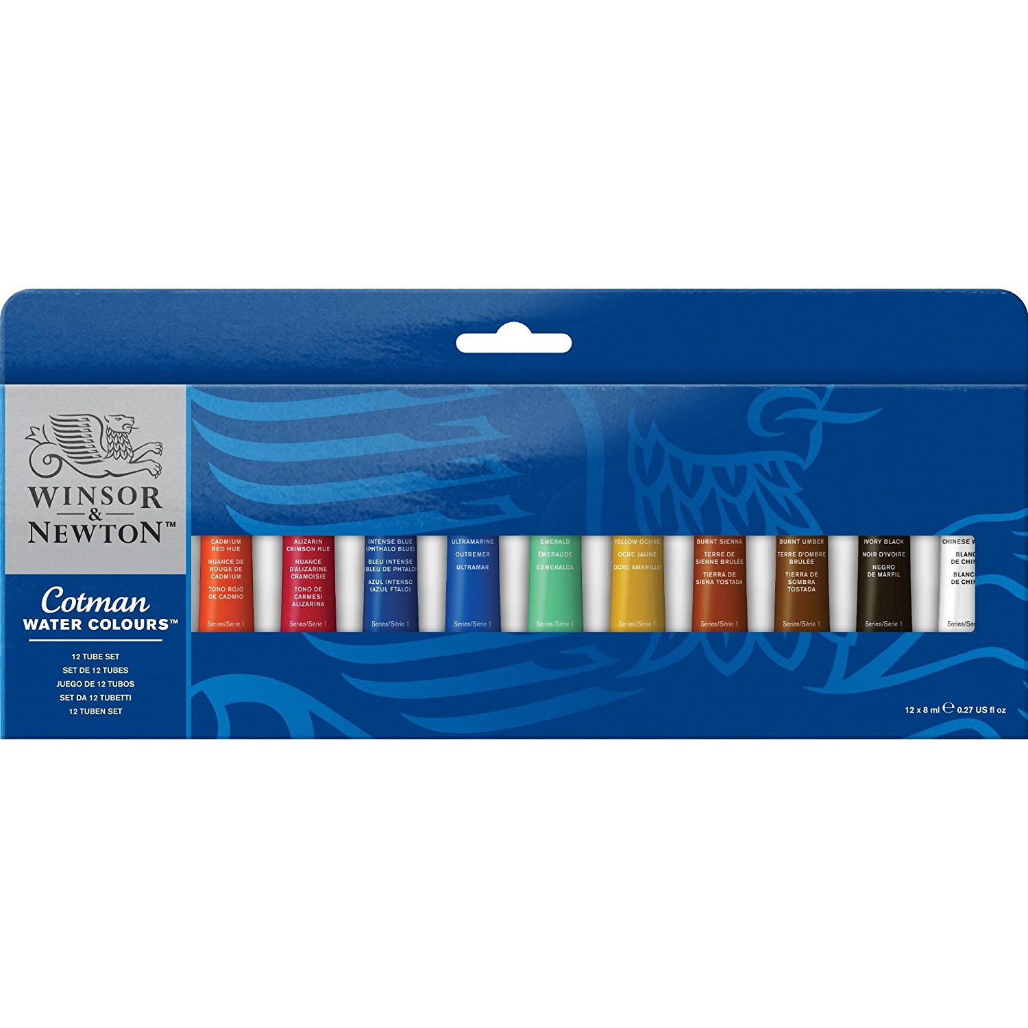 1. Un set d'aquarelle en tube