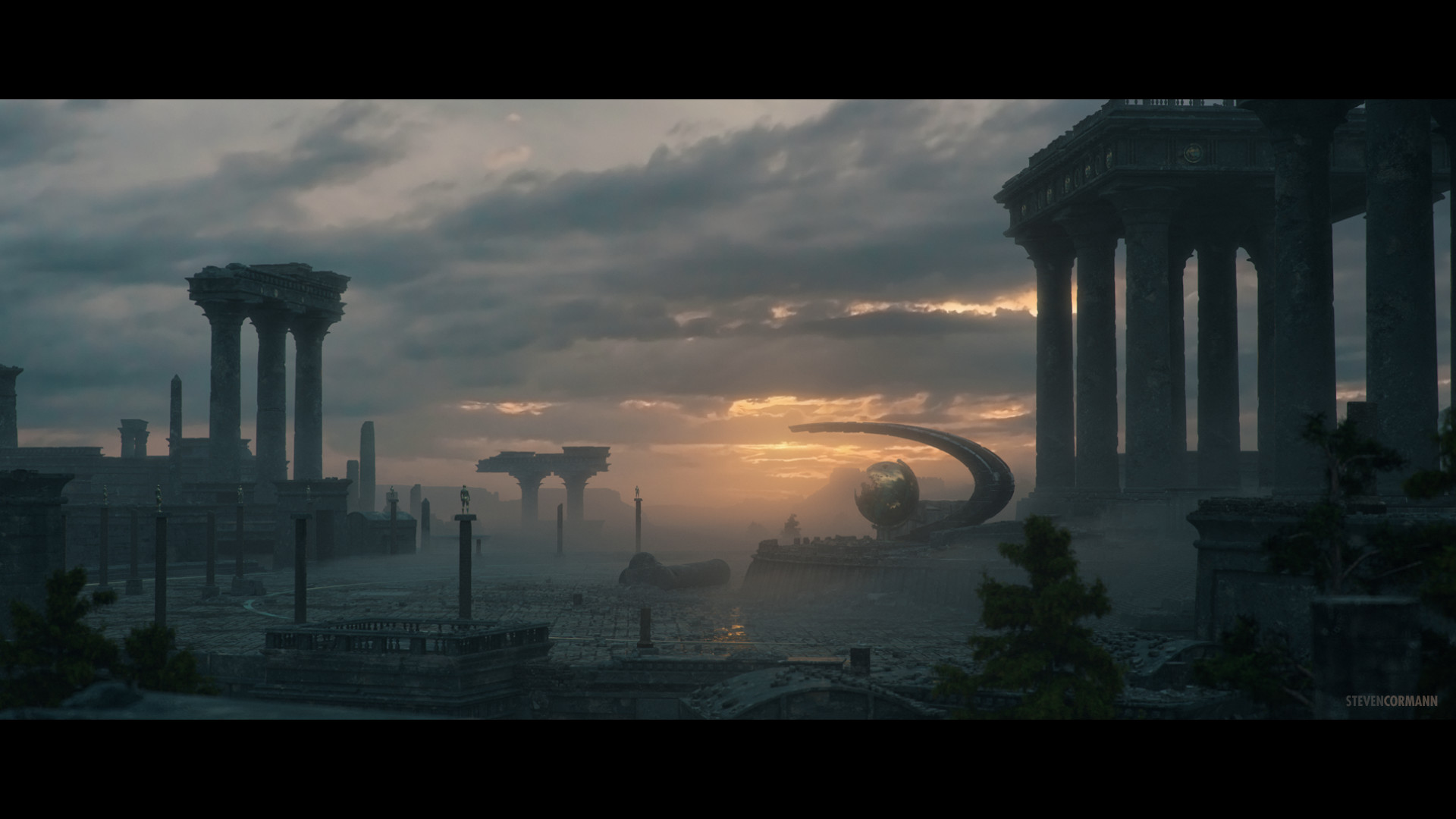 Interview vidéo de Steven Cormann, matte painter/CG generalist chez Axis, ILM, etc