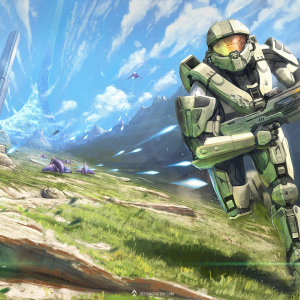 gaming-painting-halo