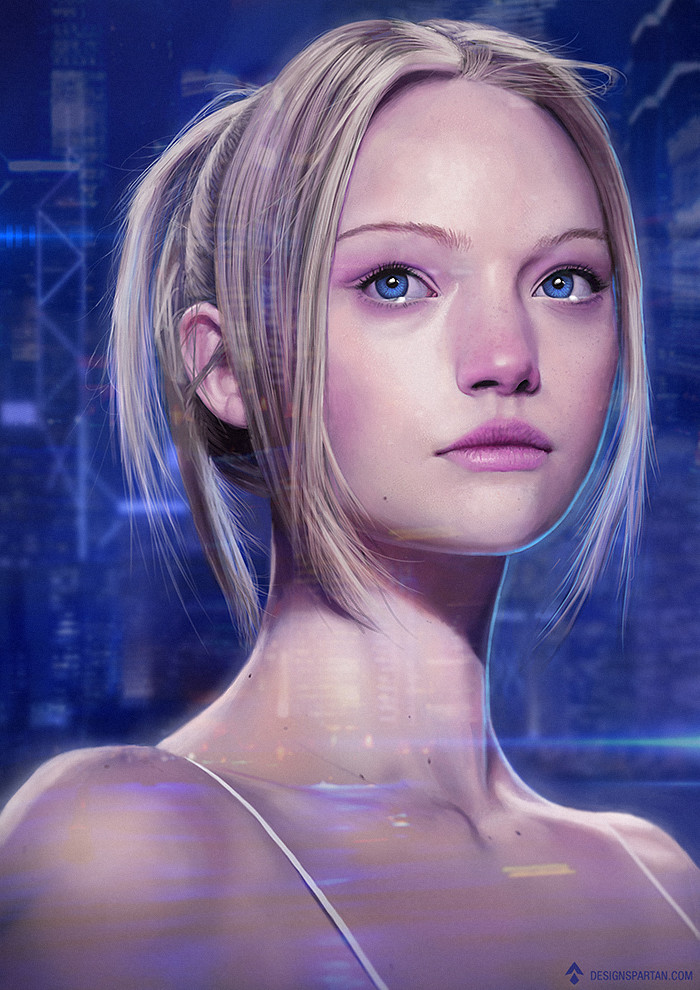sci-fi-girl-portrait