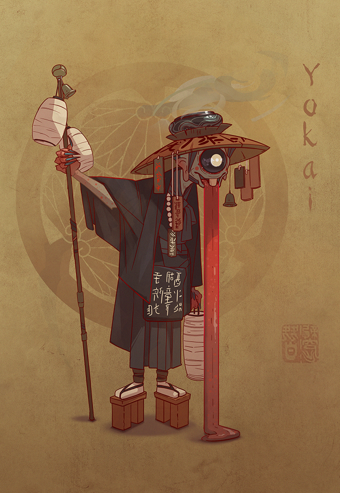 yokai-feudal-japan-the-shogunate