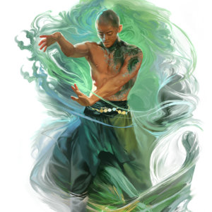 dragon-monk