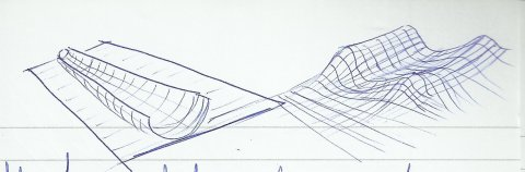 Dessin_stylo_etude_courbes_perspective_3D