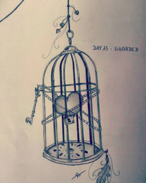Day 13 : guarded (Inktober 2018)