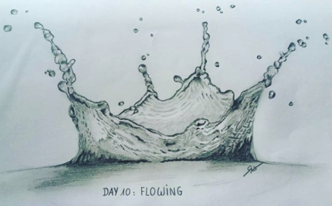 Day 10 : Flowing