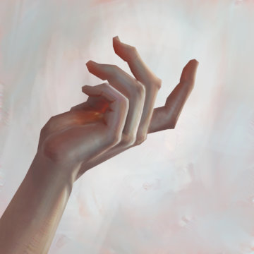 Exo color -painting-hand